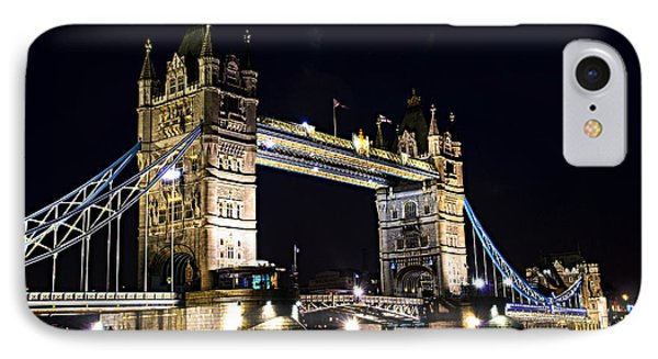 Late Night Tower Bridge IPhone Case by Elena Elisseeva