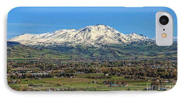 IPhone Case featuring the photograph Late Spring On Squaw Butte by Robert Bales
