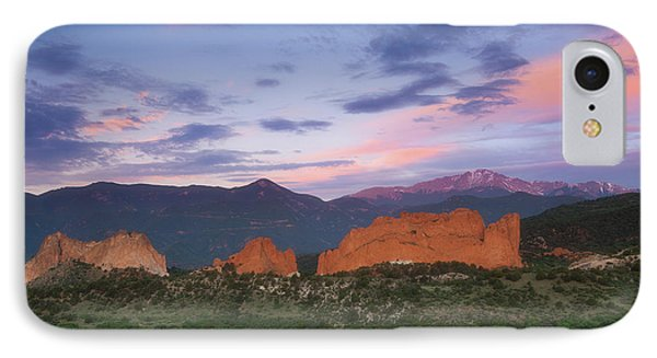 IPhone Case featuring the photograph Late Spring Sunrise by Tim Reaves