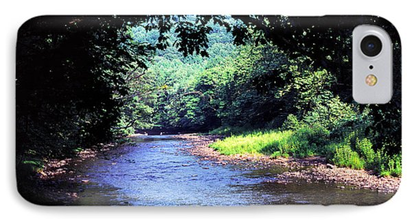 Late Summer On Williams River Phone Case by Thomas R Fletcher