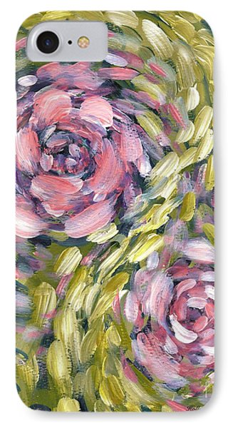 IPhone Case featuring the digital art Late Summer Whirl by Holly Carmichael