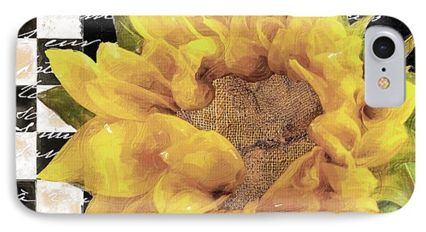 Late Summer Yellow Sunflowers II IPhone Case by Mindy Sommers