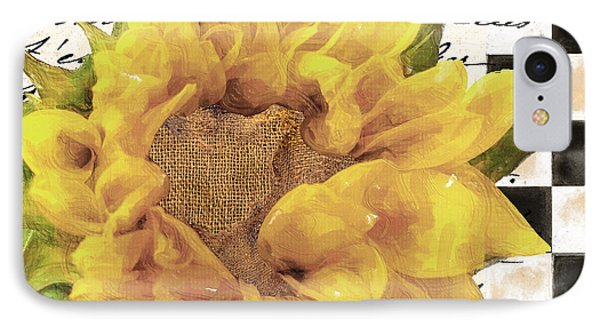 Late Summer Yellow Sunflowers IPhone Case