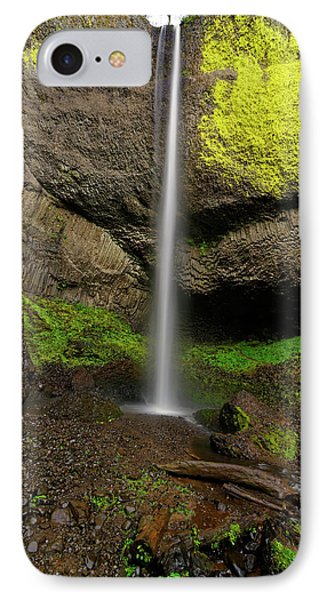 Latourell Falls IPhone Case by Jonathan Davison