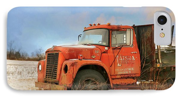 IPhone Case featuring the photograph Latsha Lumber Truck by Lori Deiter