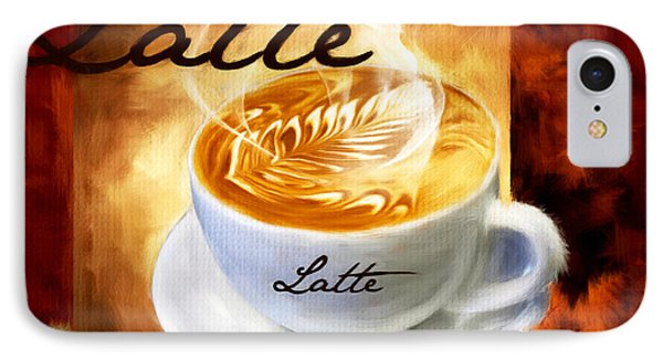 Latte IPhone Case by Lourry Legarde