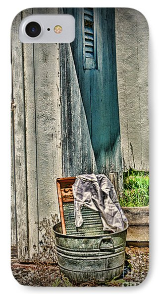 Laundry Day The Old Fashion Way IPhone Case by Paul Ward