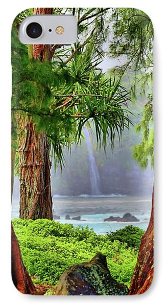 IPhone Case featuring the photograph Laupahoehoe Hawaii by DJ Florek