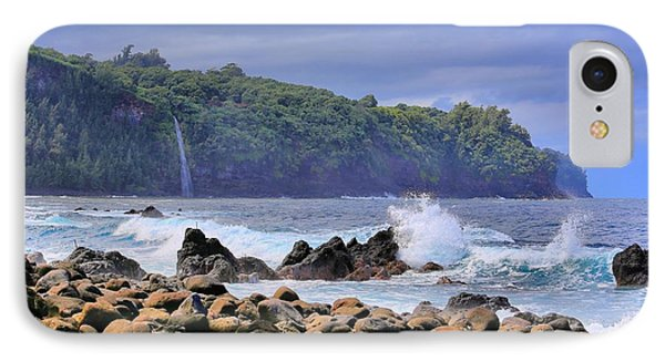 IPhone Case featuring the photograph Laupahoehoe Point by DJ Florek