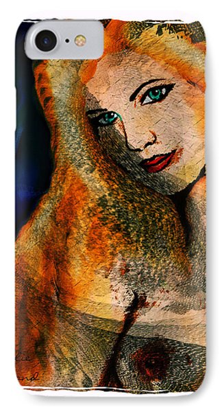 Laura IPhone Case by Natalie Holland