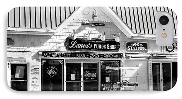Laura's Fudge Shop IPhone Case by John Rizzuto