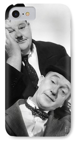 Laurel And Hardy, 1939 Phone Case by Granger