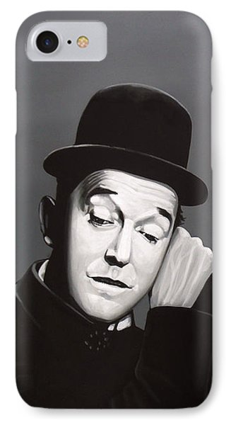 Cuckoo iPhone 7 Case - Laurel And Hardy by Paul Meijering