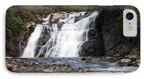 IPhone Case featuring the photograph Laurel Falls In Spring #1 by Jeff Severson