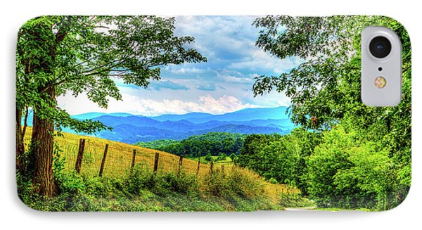 Laurel Hill View IPhone Case by Dale R Carlson