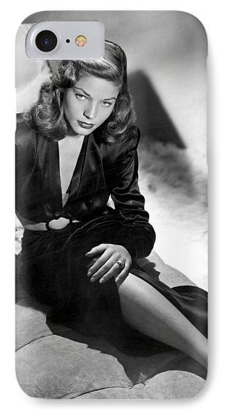 Lauren Bacall IPhone Case by Unknown