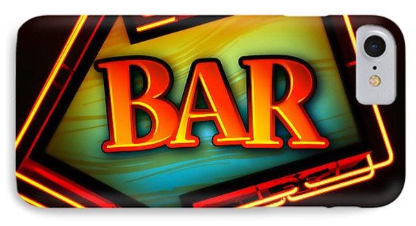 Laurettes Bar Phone Case by Barbara Teller