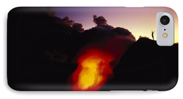 Lava At Dawn Phone Case by Ron Dahlquist - Printscapes