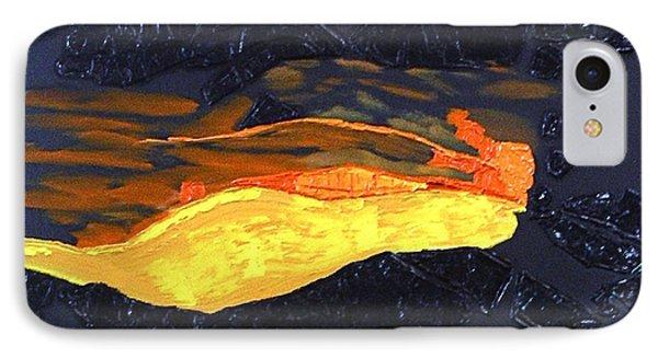 Lava Flow IPhone Case by Karen Nicholson