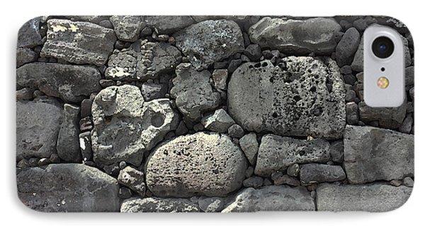Lava Rock Wall 1 Dark IPhone Case