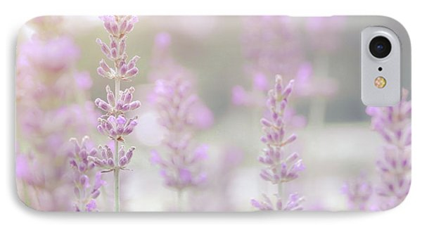 IPhone Case featuring the photograph Lavender 7  by Andrea Anderegg