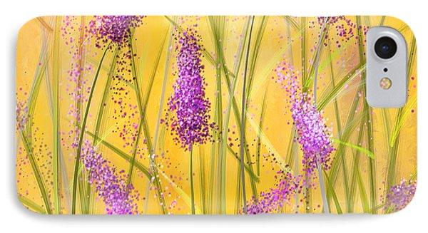 Lavender Beauties IPhone Case