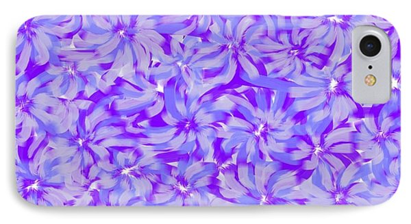 Lavender Blue 1 IPhone Case