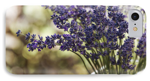 Lavender Bokeh IPhone Case by Rebecca Cozart