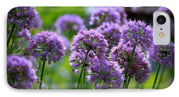 Lavender Breeze IPhone Case by Linda Mishler