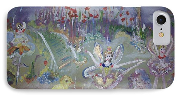 Lavender Fairies IPhone Case by Judith Desrosiers