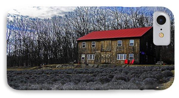 Lavender Farm IPhone Case by Elsa Marie Santoro