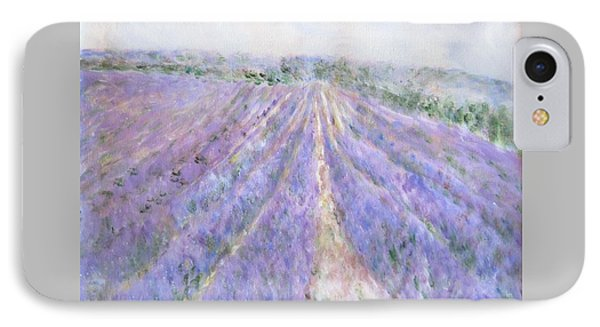 Lavender Fields Provence-france IPhone Case