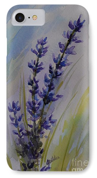 Lavender Phone Case by Gretchen Bjornson