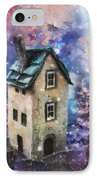 IPhone Case featuring the painting Lavender Hill by Mo T