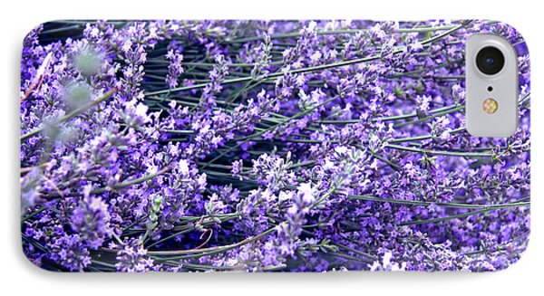 Lavender IPhone Case by Lali Kacharava