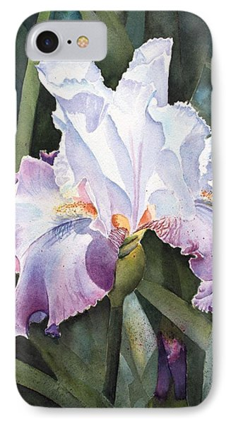 Lavender Light Phone Case by Kathy Nesseth