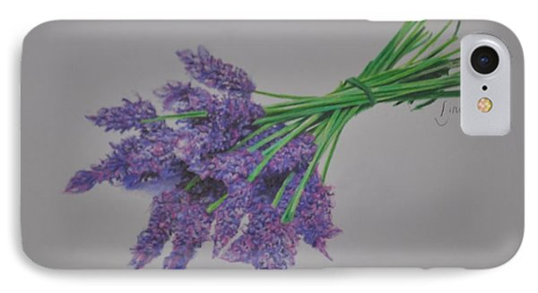 Lavender IPhone Case by Linda Ferreira