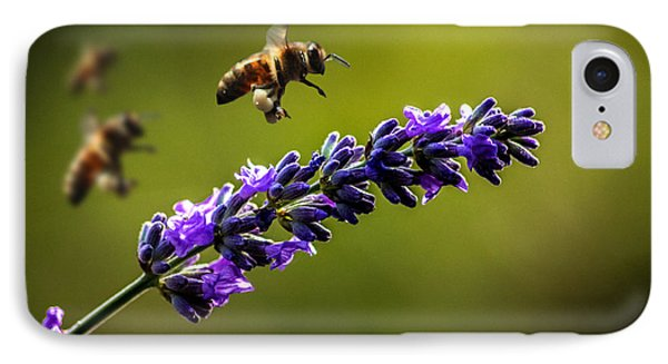 Lavender IPhone Case by Martin Newman
