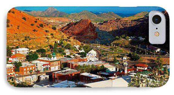 Lavender Pit In Historic Bisbee Arizona  IPhone Case