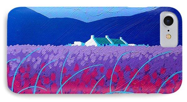 Lavender Scape IPhone Case by John  Nolan