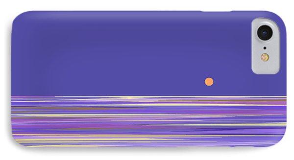 Lavender Sea IPhone Case