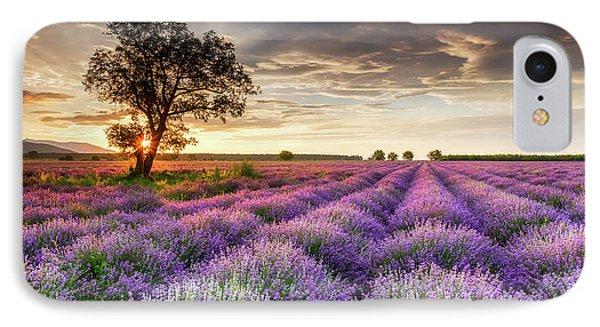 Lavender Sunrise Phone Case by Evgeni Dinev