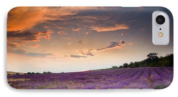 Lavender Sunset IPhone Case by Evgeni Dinev