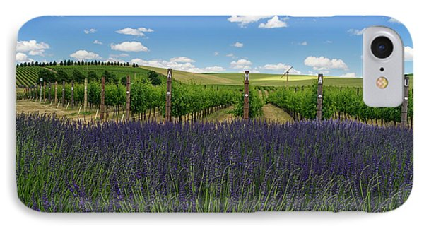 Lavender Vineyard IPhone Case