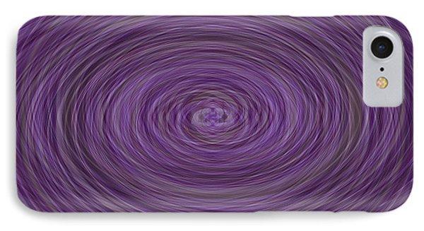 Lavender Vortex Phone Case by Teresa Mucha