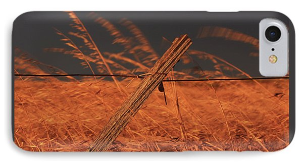 Lay Me Down In Golden Pastures IPhone Case