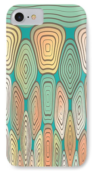 Layered Squares IPhone Case by Gaspar Avila