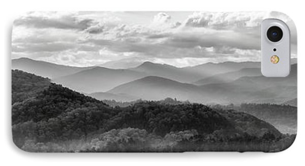 Layers In The Smokies IPhone Case by Jon Glaser