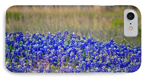 IPhone Case featuring the photograph Layers Of Blue by Linda Unger