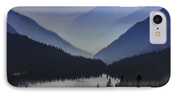 Layers Of Serenity IPhone Case by Mike Lang